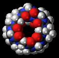 Cucurbit(7)uril (top) 3D spacefill.png