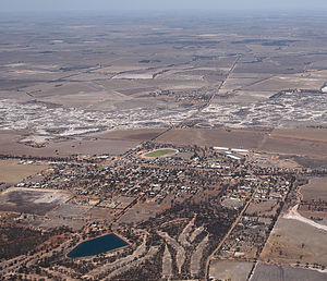 Cunderdin, Western Australia - Aerial view of Cunderdin
