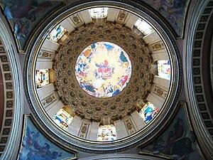 Santa Teresa la Antigua - Cupola of the chapel