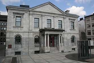 Pointe-à-Callière Museum - The museum complex includes the Old Custom House, Montreal's first custom house. The building is used as the museum's gift shop.