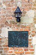 Dülmen, Kreuzkapelle, Informationstafel -- 2021 -- 7190.jpg