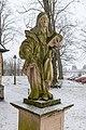 Dülmen, Skulptur an der Kreuzkapelle -- 2015 -- 4941.jpg