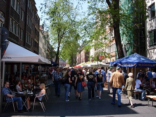 Düsseldorf-Altstadt Bolkerstraße