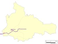 Dąbrowa Górnicza tram network.png