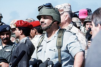 Khalid bin Sultan Al Saud - Prince Khaled during the Gulf War