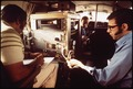 DR. LEO ZAFONTE, ASSISTANT RESEARCH CHEMIST, AND H. GLORIA NASA TECHNICIAN, WITH PILOT GARY BRADBURN - NARA - 542671.tif