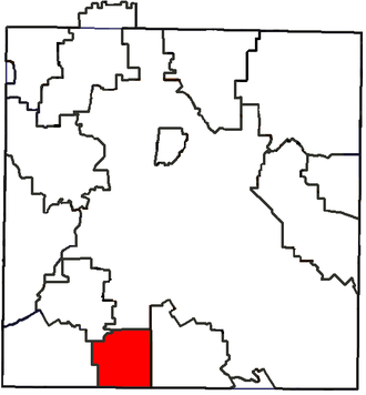 DeSoto Independent School District - Location of DeSoto ISD in Dallas County
