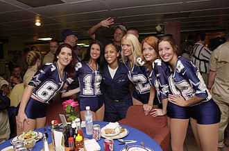 Dallas Cowboys Cheerleaders - Image: Dallas Cowboy Cheerleaders