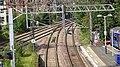 Dalmuir Interchange railway station, Clydebank. View of junction.jpg