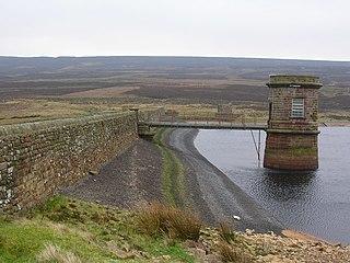 Watersheddles Reservoir Reservoir in Lancashire