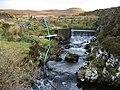 Dam on the Voadker Burn - geograph.org.uk - 282846.jpg