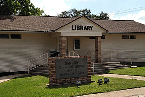 Brazoria County Library System - Danbury branch of the Brazoria County Library System