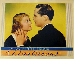 Dangerous (film) - Bette Davis and Franchot Tone