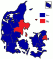 Danish Amsterdam Treaty referendum results by county, 1998.png