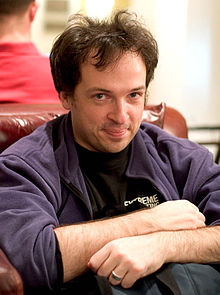 Danny O'Brien at ETech 2005.jpg