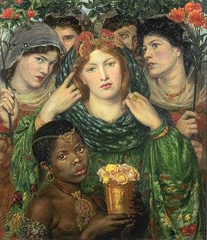 Dante Gabriel Rossetti - La novedzino - WGA20108.jpg