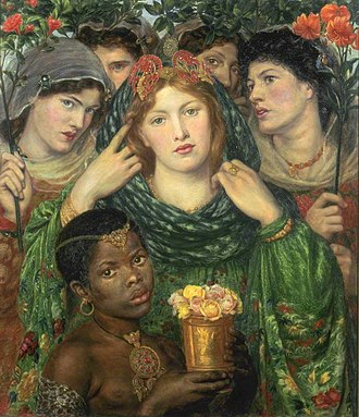 The Beloved (Rossetti painting) - Image: Dante Gabriel Rossetti The Bride WGA20108