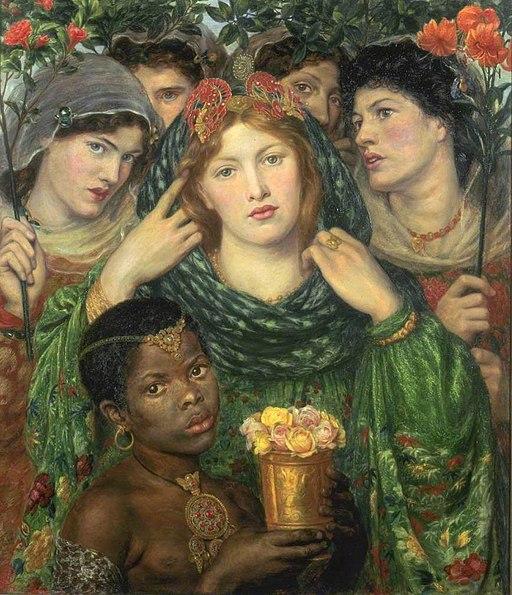 """The Beloved"" by Dante Gabriel Rossetti"