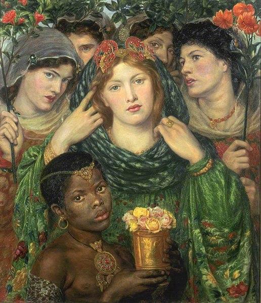 File:Dante Gabriel Rossetti - The Bride - WGA20108.jpg