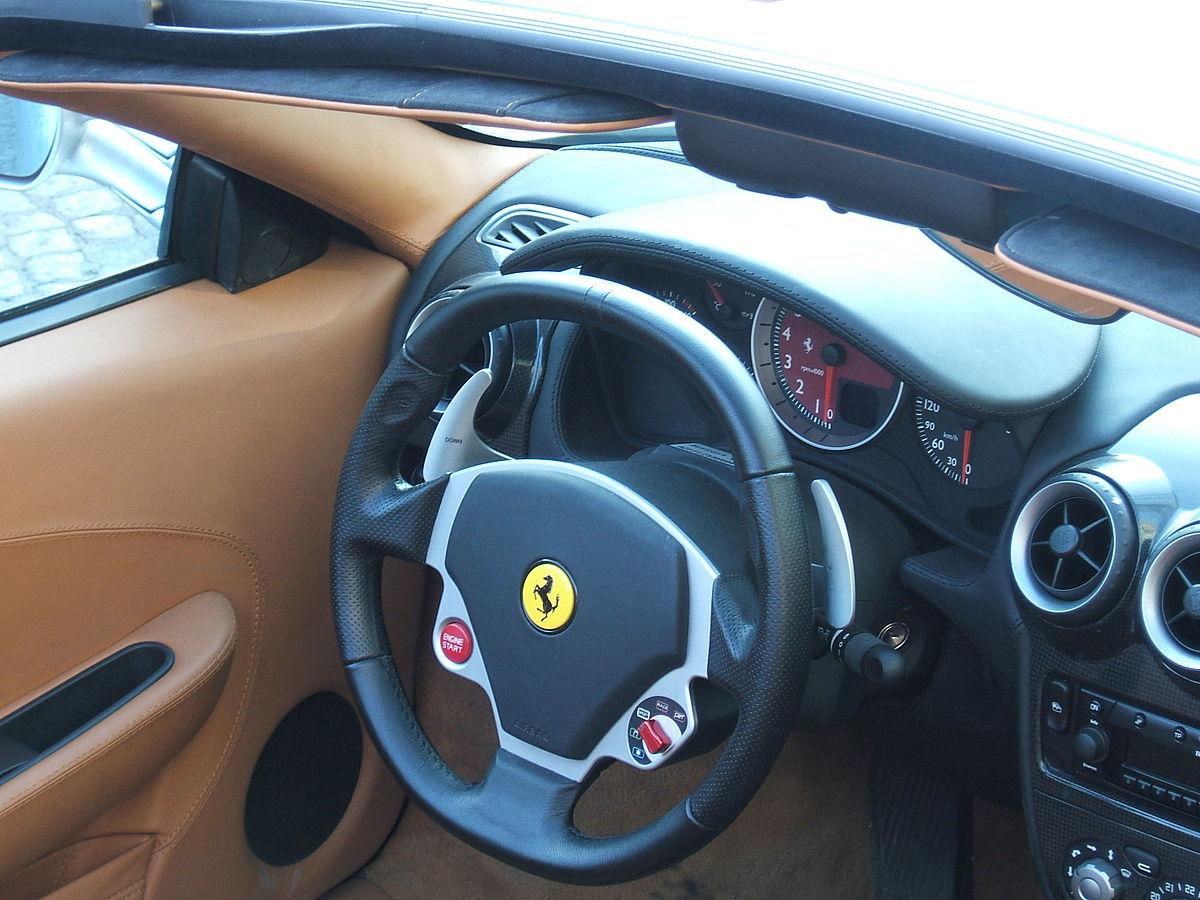File Dashboard Ferrari F430 Champs Elysées Jpg Wikimedia Commons