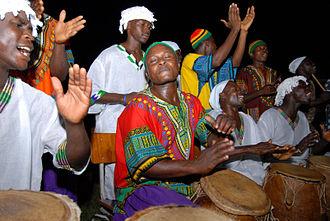 Rhythm in Sub-Saharan Africa - Drummers in Accra, Ghana