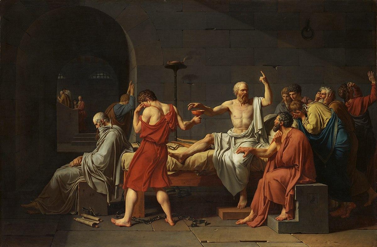 Śmierć Sokratesa David