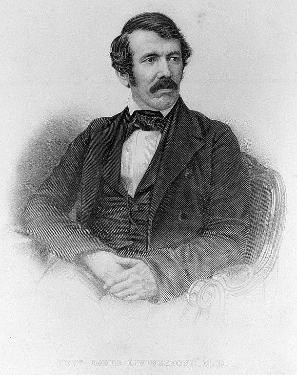 File:David Livingstone, seated looking to the left. Engraving by Wellcome L0011161.jpg ...