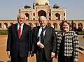 David Mulford, Robert M. Gates and his wife Becky at Humayun's Tomb.jpg