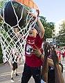 David Vanterpool lifts child for dunk (170526-D-DB155-002) (cropped).jpg