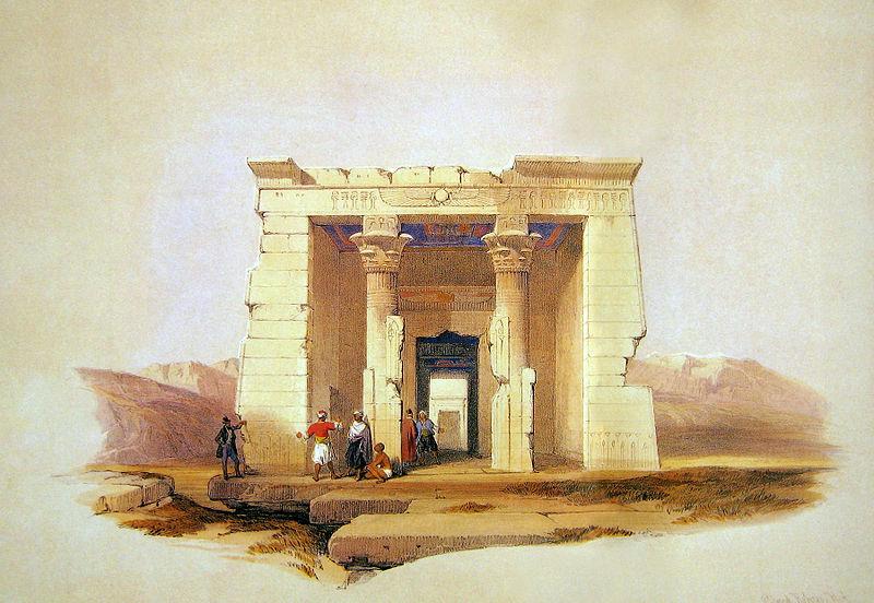 File:Davie Roberts Temple Dendour Nubia.jpg