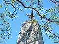 Dawny pomnik Armii Radzieckiej .Na szczycie pomnika była czerwona Gwiazda - panoramio.jpg