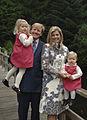 De Prins van Oranje, Prinses Máxima, Prinses Catharina-Amalia en Prinses Alexia, oktober 2006.jpg