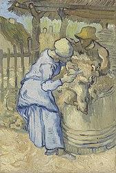 Vincent van Gogh: The Sheepshearer (after Millet)