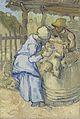 De schapenscheerster (naar Millet) - s0042V1962 - Van Gogh Museum.jpg