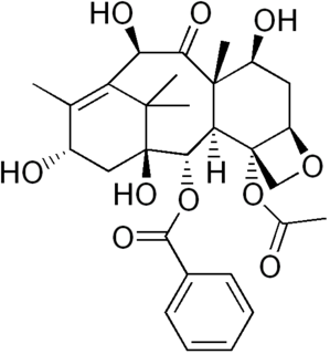 10-Deacetylbaccatin chemical compound