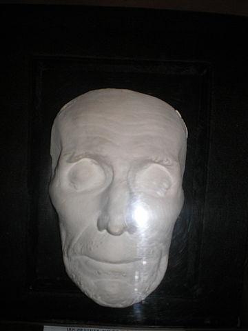 Посмертная маска Суворова. Дом-музей Суворова, Кобрин