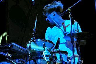Death from Above (band) - Sebastien Grainger performing at Parklife Festival 2011