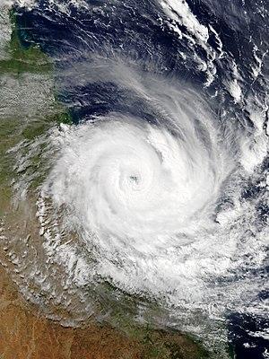 Cyclone Debbie - Image: Debbie 2017 03 28 0010Z