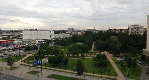Vasileostrovsky District - Decabrist's Garden, Vasileostrovsky District
