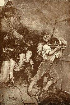 Defenders В осаде 1887.jpg Boonesborough H Пайл Харпер недельных июня