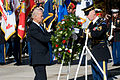 Defense.gov News Photo 101111-A-0193C-005 - Vice President Joe Biden lays a wreath at the Tomb of the Unknown Soldier during a Veteran s Day ceremony at Arlington National Cemetery on Nov.jpg