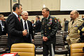 Defense.gov News Photo 110609-D-XH843-001 - NATO Secretary General Anders Fogh Rasmussen left Secretary of Defense Robert M. Gates ISAF Commander Gen. David Petraeus 2nd from right and.jpg