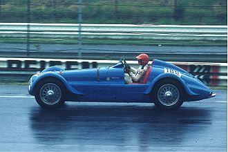 Bleu de France (colour) - Image: Delahaye 135 MS, Bj. 1935 36 (1978 08), D. v. d. Lof