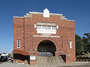 National Register of Historic Places listings in Luna County, New Mexico - Image: Deming Luna Mimbres Museum