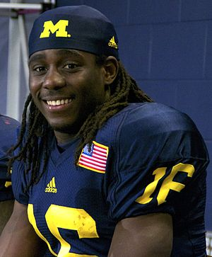 Denard Robinson - Robinson at a 2011 press conference.