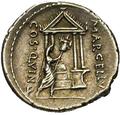 Denarius Publius Cornelius Lentulus Marcellinus 3 Reverse.png