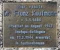 Denkstein Kurfürstendamm 125 (Grune) Franz Kaufmann.jpg