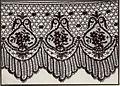 Dentellière Carte postale illutréee d'une guipure de soie noire.jpg