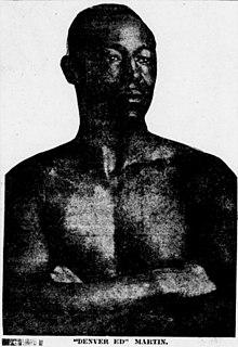 Ed Martin (boxer) American boxer