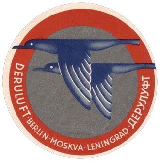 Deruluft - Image: Deruluft logo